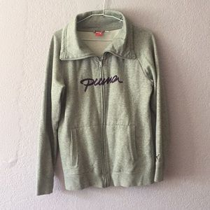 Puma sweatshirt jacket